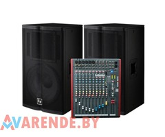 Прокат комплекта звукового оборудования Electro-Voice TX1152 (1,5 кВт)