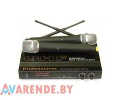 Двойной ручной радиомикрофон ENBAO SG-922 730-820мГц