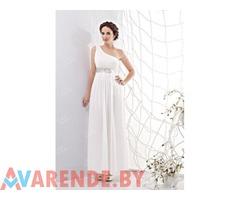 Прокат свадебного платья ампир sm0111