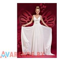Свадебное платье в греческом стиле (ампир) kp0076