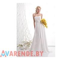 Cвадебное платье в греческом стиле (ампир) c0215