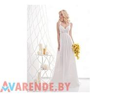 Прокат свадебного платья ампир c0340 в Минске