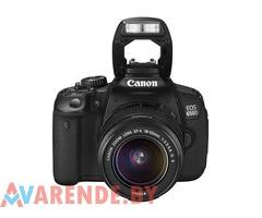 Прокат фотоаппарата Canon EOS 650D в Минске
