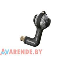 Прокат микрофона Saramonic GoMic для GoPro в Минске
