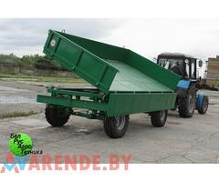 "Аренда трактора ""Беларус-1025.2""(отвал,щетка,прицеп)"