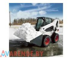 Аренда мини-погрузчиков Bobcat для уборки снега