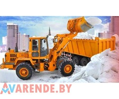Амкодор 332, 342, МАЗ 5516 20тн, Снежный отвал+щетка на базе МТЗ 92П