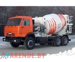 Аренда бетоносмесителей в Солигорске