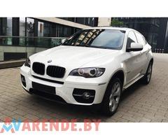 Аренда BMW X6 с водителем
