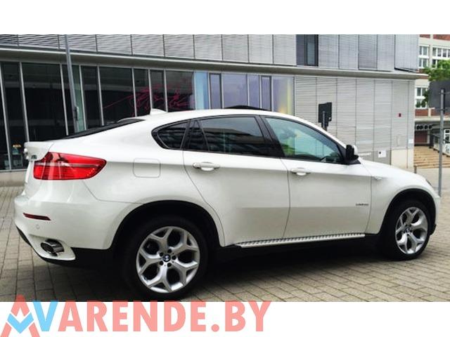 Аренда BMW X6 с водителем - 2/2