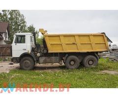 Аренда Самосвалы МАЗ 5516: грузоперевозки, вывоз строительного мусора,