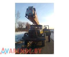 Аренда автовышки ЗИЛ-131 в Витебске