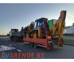 Аренда, услуги экскаватора, погрузчика JCB 4 CX  в Барановичи