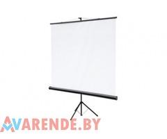 Прокат экрана для проектора Classic Libra 150x150см в Минске