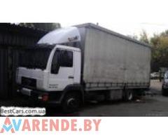 Аренда грузового авто MAN в Бресте