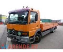 Аренда грузового автомобиля МЕРСЕДЕС ATEGO 823 в Минске