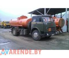 Аренда бензовоза МАЗ 5334 в Минске