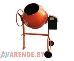 Прокат бетономешалок от 70 до 240 литров в Минске