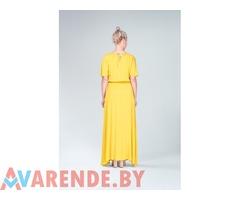 Прокат платья жёлтого Sanila в Минске