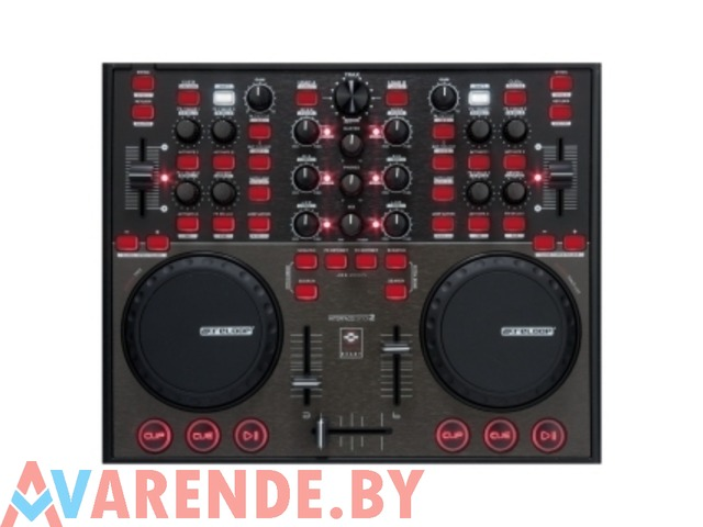 Прокат MIDI контроллера аналог 2-канального DJ микшера и 2-CD - 1/1