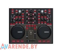 Прокат MIDI контроллера аналог 2-канального DJ микшера и 2-CD