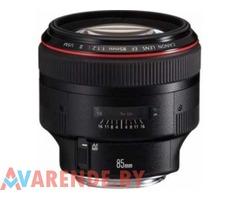 Прокат объектива Canon EF 85 mm f/1.2 L II USM в Минске