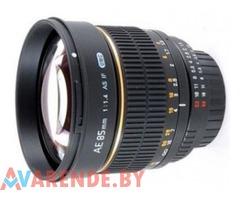 Прокат Samyang 85mm f/1.4 AS IF UMC (для Canon) с чипом фокуса 4ого поколения