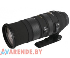 Прокат телевика Sigma APO 150-500mm F5-6.3 DG OS HSM для Canon