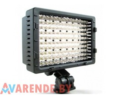 Свет накамерный LED CN-160 с АКБ напрокат в Минске