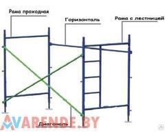 Прокат лесов строительных в Витебске