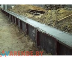 В Аренду Опалубка металлическая для фундаментов в Бресте