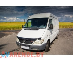 Аренда MERCEDES-BENZ SPRINTER 213 CDI в Минске