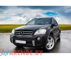 Прокат MERCEDES-BENZ ML63 AMG в Минске