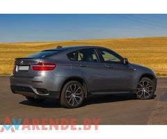Аренда BMW X6 в Минске