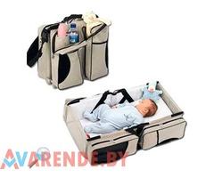 Кроватка для путешествий Baby Travel Bed and Bag