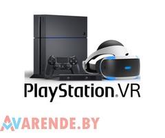 Прокат PS4 + VR + 4 диска VR в Бресте