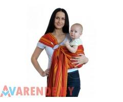 Слинг-шарф Красный тюльпан напрокат в Гродно
