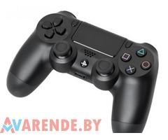 Беспроводной джойстик для PS4 напрокат в Гродно