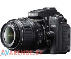 Прокат фотоаппарата Nikon D90 + объектив 18-55 VR в Гродно