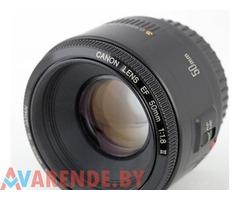 Аренда объектива Canon EF 50mm f/1.8 II в Гродно