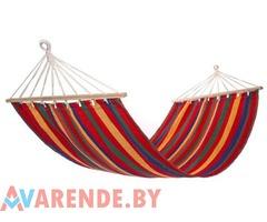 Гамак ( 200х80 см, текстильный, разноцветный) напрокат в Гомеле