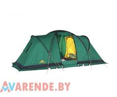 Кемпинговая четырехместная палатка GREEN LINE 4 напрокат в Гомеле