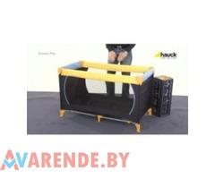 Аренда манежа - кроватки Hauck в Пинске