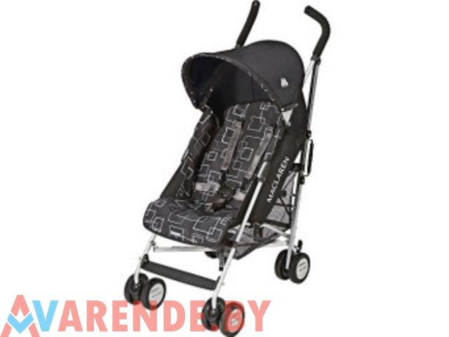 Прогулочная коляска-трость Maclaren Quest Mod напрокат в Пинске - 1/1