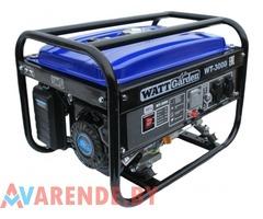 Бензиновый генератор WATT WT-3000 напрокат в Пинске
