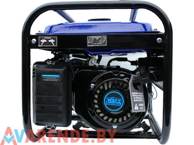 Бензиновый генератор WATT WT-3000 напрокат в Пинске - 4/4