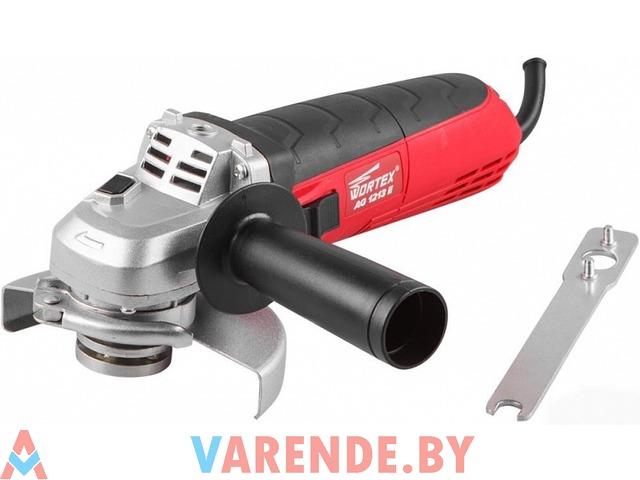 Угловая шлифовальная машина (болгарка) WORTEX AG 1213 E напрокат в Пинске - 1/3