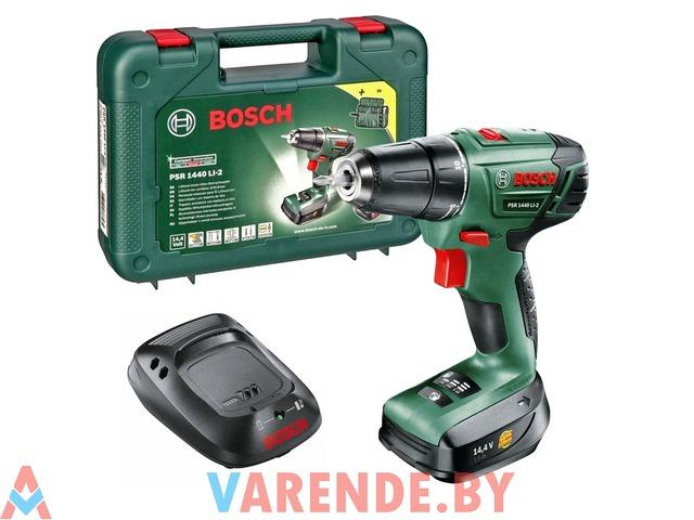Шуруповерт Bosch PSR 1440 LI-2 напрокат в Пинске - 2/3