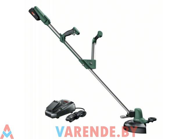 Триммер аккумуляторный Bosch UniversalGrassCut 18-260 напрокат в Пинске - 1/4