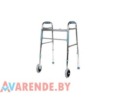 Ходунки для взрослых на передних колесах напрокат в Витебске